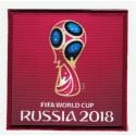 Parche bordado y textil FIFA RUSIA 2018 7cm x 7cm