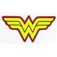 Textile patch WONDER WOMAN 12cm x 6cm