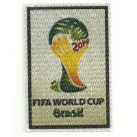 Parche textil FIFA WORLD CUP BRASIL 5,5CM X 8CM