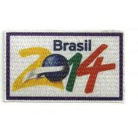 Textile patch 2014 BRASIL 8CM X 5CM