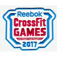 Parche bordado CROSSFIT GAMES 2017 10,5 cm x 8cm