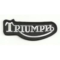 Parche bordado TRIUMPH CLASICO 10cm x 4cm