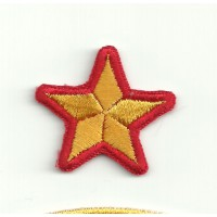Embroidery patch STAR SPANISH SELECTION 3cm x 3cm