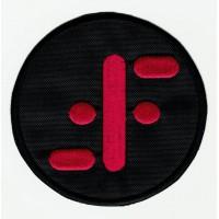 embroidery patch V 8cm