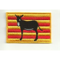 Patch embroidery FLAG RUC CATALA 4CM X 3CM