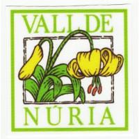 textile Patch VALL DE NÚRIA 7,5cm x 7,5cm