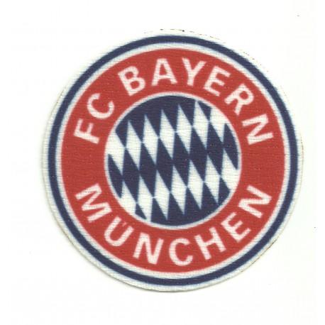 Parche textil BAYERN MUNCHEN 6,5cm x 6,5cm