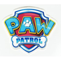 embroidery and textile patch CANINE PATROL SHIELD 8cm x 7cm