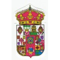 Parche textil ESCUDO PROVINCIA CIUDAD REAL 3,5cm x 6cm