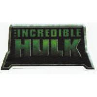 Parche textil EL INCREIBLE HULK 12cm X 6cm