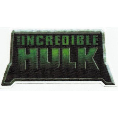 Parche textil EL INCREIBLE HULK 8cm