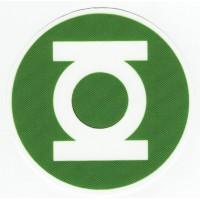 GREEN LANTERN textile patch 8cm