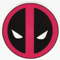 DEADPOOL textile patch 8cm