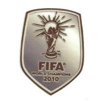 Parche textil FIFA WORLD CHAMPIONS 2010 6,5cm X 8,5cm