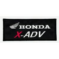 Embroidered patch HONDA X - ADV 10cm x 4cm