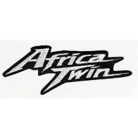 Patch embroidery AFRICA TWIN 8cm x 3cm