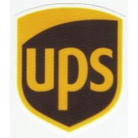 Parche textil UPS 7cm x 8cm