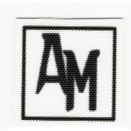 Parche textil ANTONIO MORATO 2,5cm x 2,5cm