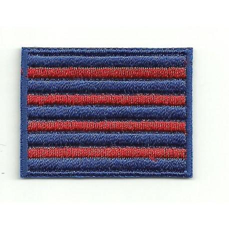 1358104cf6c71 Patch embroidery FLAG BANDERA SENYERA BARÇA 4CM X 3CM - Los Parches