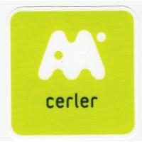 Textile patch CERLER 7cm x 7cm