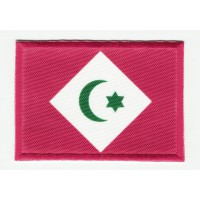 Embroidered patch and textile FLAG FORMER REPUBLIC OF THE RIF 7CM x 5CM