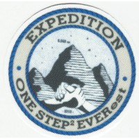 Textile patch EXPEDITION ONE STEP EVEREST 6cm