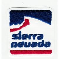 Parche bordado SIERRA NEVADA 7cm x 7cm
