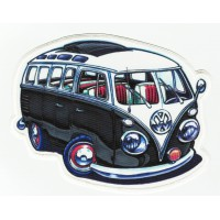 Textile and embroidery patch VOLKSWAGEN T1 BULLI vw 7.5cm x 6cm