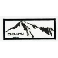 Parche textil y bordado CHO OYU 8cm x 3cm