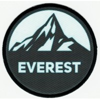 Textile patch and embroidery EVEREST 7.5cm