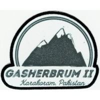 Parche textil y bordado GASHERBRUM II 9cm X 7cm