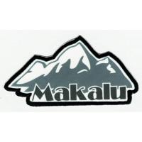 Parche textil y bordado MAKALU 10cm x 5cm