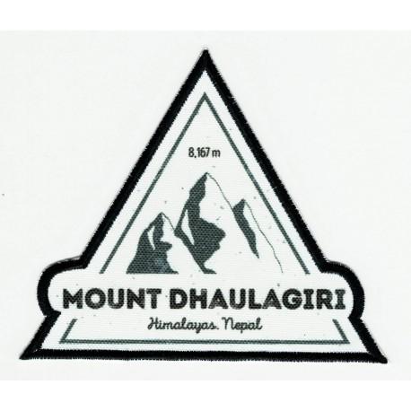 Parche textil y bordado DHAULAGIRI 9cm x 8cm
