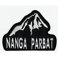 Parche bordado NANGA PARBAT 12cm x 9cm