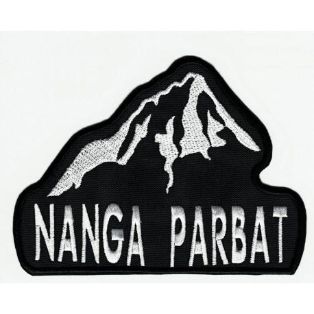 Parche bordado NANGA PARBAT 8cm x 6cm