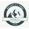 Parche textil MANASLU 8.5cm x 7.5cm