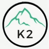 Parche textil y bordado K2 7,5cm