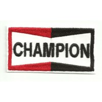 Parche bordado CHAMPION 7,5cm x 4cm