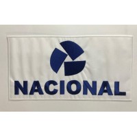 NACIONAL Embroidery Patch 27cm x 14cm