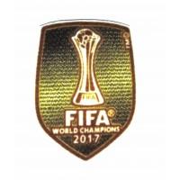 Parche textil FIFA WORLD CHAMPIONS 2017 6,7cm X 8,5cm