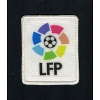 Parche bordado y textil LFP pequeño 4cm x 5cm