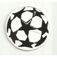 Parche bordado PELOTA CHAMPIONS LEAGUE 7cm x 7cm
