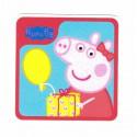 Parche textil PEPPA PIG REGALO 8cm x 8cm