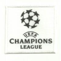 Parche bordado y textil CHAMPIONS LEAGUE 7cm x 6,5cm