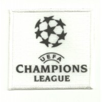 Textile and embroidery patch CHAMPIONS LEAGUE 7cm x 6,5cm