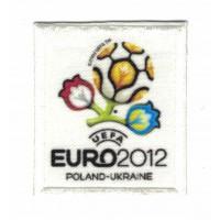 Parche bordado y textil UEFA EURO 2012 7cm x 7cm