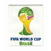 Textile patch FIFA WORLD CUP BRASIL 2014 7CM X 9CM