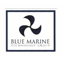 Textile patch BLUE MARINE 8cm x 7cm