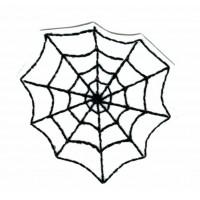 Parche bordado WHITE SPIDERWEB HALOWEEN 5,5m x 6cm
