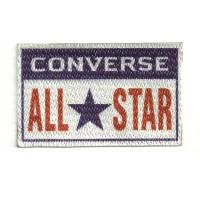 Textile patch CONVERSE ALL STAR 4cm x 2.5cm
